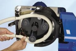 How does a peristaltic pump work?
