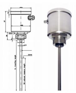 Pulp and Water Level Monitoring probe