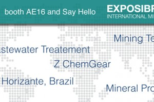 Stop by booth AE 16 and Say Hello – EXPOSIBRAM 2013
