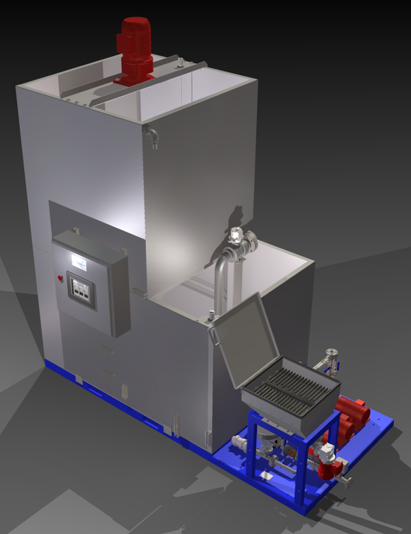Zeroday Z Chemgear D300 Flocculant Mix and Feed System