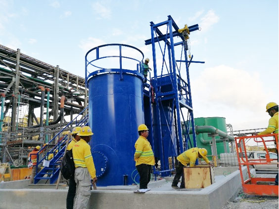 Large capacity xanthate (PAX) Z ChemGear™ mixing-feed system