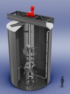 Iron Removal Reactor—Mixers & Aerators